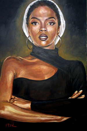 Lauryn Hill Painting
