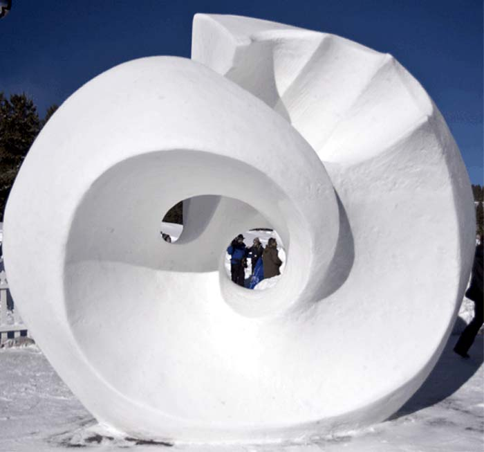 Snow Sculptures Around The World 14