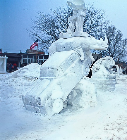 Snow Sculptures Around The World 20